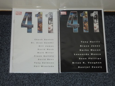 411 #1 to #2 - Marvel 2003 - FN/VFN to VFN