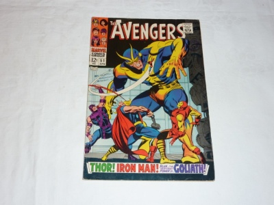 Avengers #51 - Marvel 1968 - FN- - The Collector App