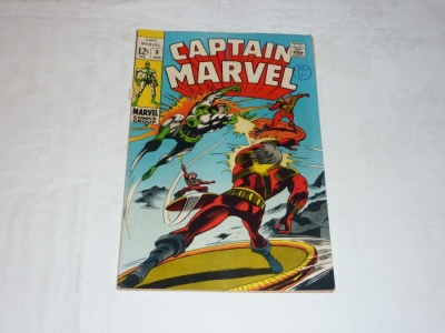 Captain Marvel #9 - Marvel 1969 - VG-