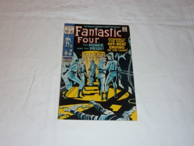 Fantastic Four #87 - Marvel 1969 - VG+ - Dr Doom App