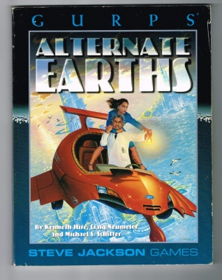 GURPS Alternate Earths - 1996 - Steve Jackson Games