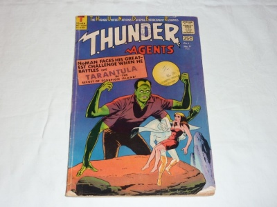 Thunder Agents #9 - Tower Comics 1966 - GD/VG