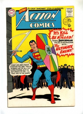 Action Comics 329 - DC 1965 - FN - Superman