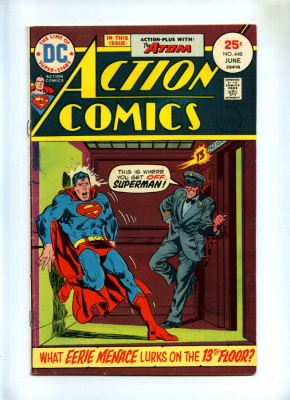 Action Comics #448 - DC 1975 - Superman