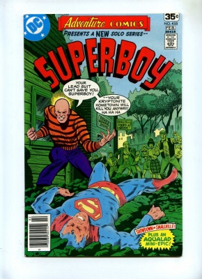 Adventure Comics 455 - DC 1978 - VFN- - Superboy