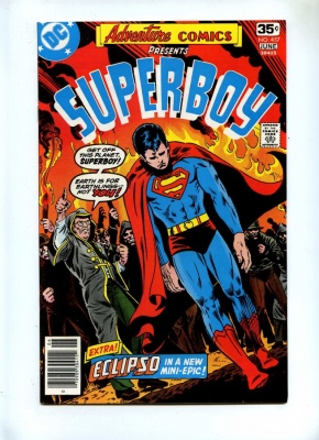 Adventure Comics 457 - DC 1978 - VFN - Superboy