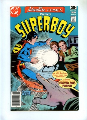 Adventure Comics 458 - DC 1978 - VFN - Superboy