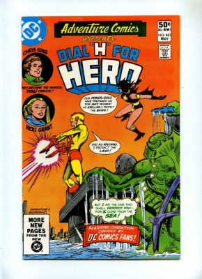 Adventure Comics 481 - DC 1981 - VFN - Dial H For Hero