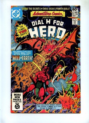 Adventure Comics 486 - DC 1981 - VFN- - Dial H For Hero