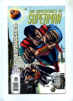 Adventures of Superman 1000000 - DC 1998 - VFN/NM - 853rd Century X-Over