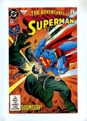 Adventures of Superman 497 and 498 - DC 1992/3 - VFN - Doomsday and Death of Superman