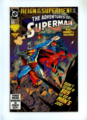 Adventures of Superman 503 - DC 1993 - VFN