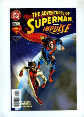 Adventures of Superman 533 - DC 1996 - VFN+ - Impulse App
