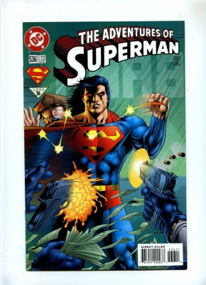 Adventures of Superman 536 - DC 1996 - VFN/NM - Brainiac App