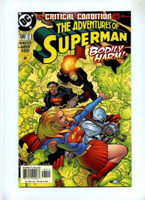 Adventures of Superman 580 - DC 2000 - NM-