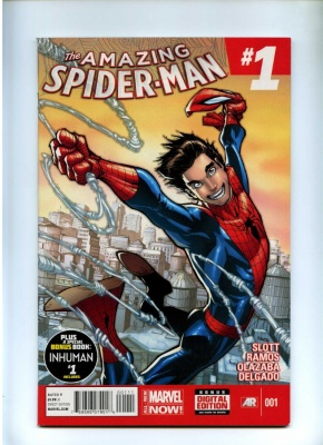 Amazing Spider-Man Vol 3 #1 - Marvel 2014 - 1st App Cindy Moon