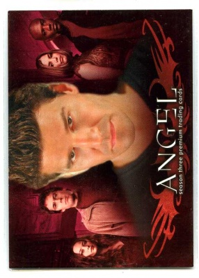 Angel Season Three - A3-UK - Promo Card