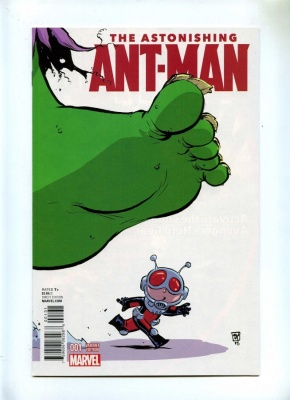 Astonishing Ant-Man 1 - Marvel 2015 - NM - Young Variant