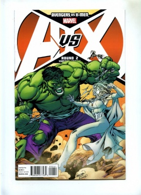 Avengers vs X-Men #2C - Marvel Variant Cover Carlo Pagulayan Hulk vs Emma Frost