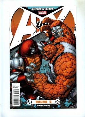 Avengers vs X-Men #5E - Marvel 2012 - Variant Cvr Dale Keown Juggernaut vs Thing