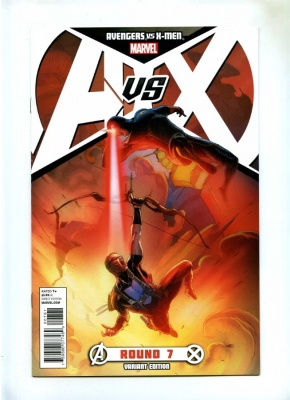 Avengers vs X-Men #7E - Marvel 2012 - Cyclops vs Hawkeye Variant Cover