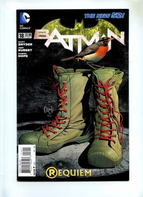 Batman 18 - DC 2013 - VFN+ - New 52 - 1st Print
