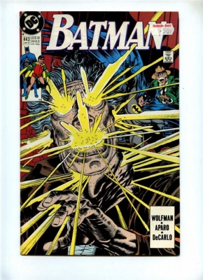 Batman #443 - DC 1990 - FN