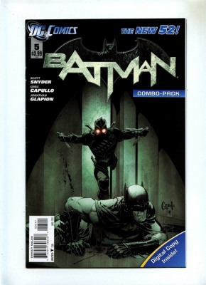 Batman 5 - DC 2012 - VFN - New 52 - Combo Pack Edition - Court of Owls