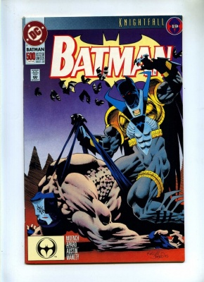 Batman 500 - DC 1993 - VFN - Knightfall Part 19 - Azrael Bane App