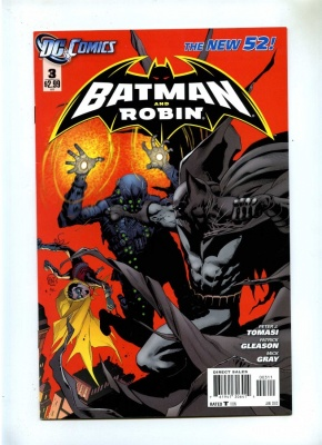 Batman and Robin 3 - DC 2012 - NM- - New 52 - 1st Print