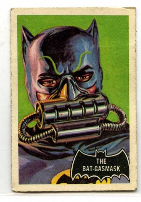 Batman Black Bat #43 - A&BC Gum - 1966