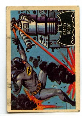 Batman Black Bat #47 - A&BC Gum - 1966