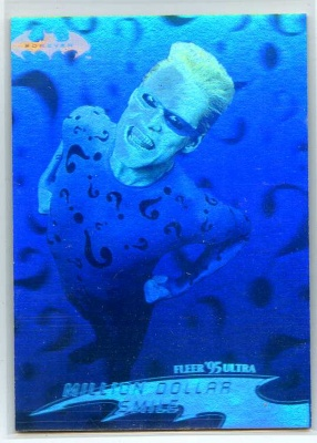 Batman Forever Fleer Ultra Hologram Card - #15 - Fleer 1995