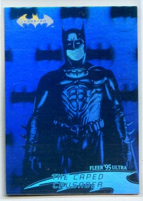 Batman Forever Fleer Ultra Hologram Card - #20 - Fleer 1995