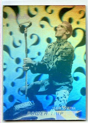 Batman Forever Fleer Ultra Hologram Card - #35 - Fleer 1995