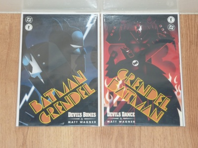 Batman Grendel 2nd Series #1 to #2 - DC 1996 - NM- to NM - Complete Set - Prestige Format