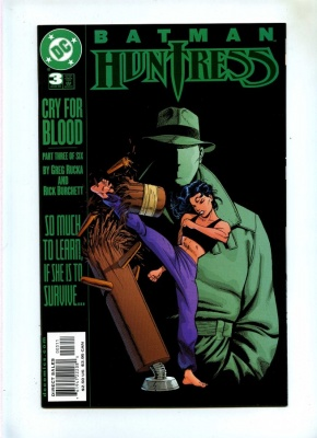 Batman Huntress Cry for Blood #3 - DC 2000 - VFN+