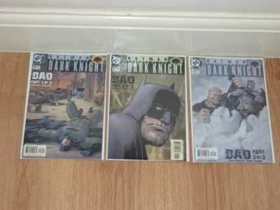 Batman Legends of the Dark Knight #146 to #148 2001 VFN to VFN/NM Full Bad Story