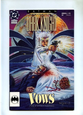 Batman Legends of the Dark Knight Annual #2 - DC 1992 VFN+ James Gordon Wedding