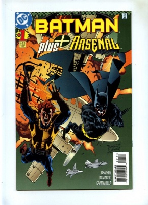 Batman Plus #1 - DC 1997 - VFN+ - One-Shot - Arsenal