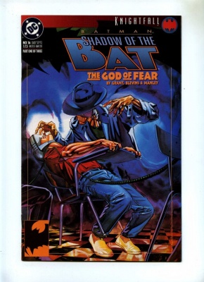 Batman Shadow of the Dark Knight 16 - DC 1993 - VFN+ - Knightfall
