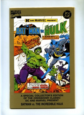 Batman vs the Incredible Hulk #1 - DC 1995 One Shot - Special Collectors Edition