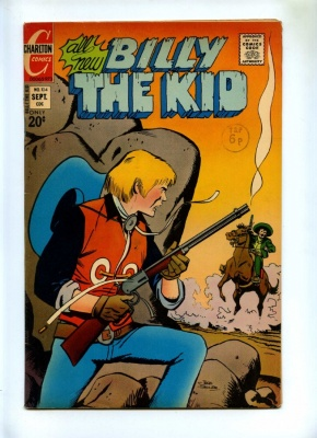 Billy the Kid #104 - Charlton 1973