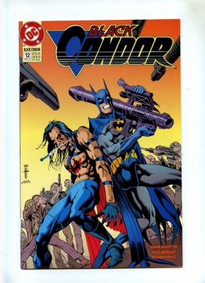 Black Condor #12 - DC 1993 - VFN/NM - Batman - Final Issue