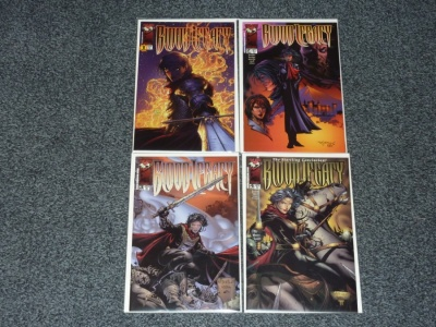 Blood Legacy The Story of Ryan #1 to #4 - Top Cow 2000 - Complete Set