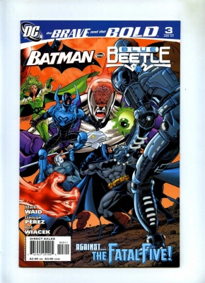 Brave and the Bold 3rd Series #3 - DC 2007 - VFN+ - Batman and Blue Beetle