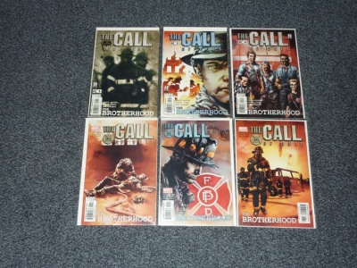 Call of Duty The Brotherhood #1 to #6 - Marvel 2002 - Complete Set