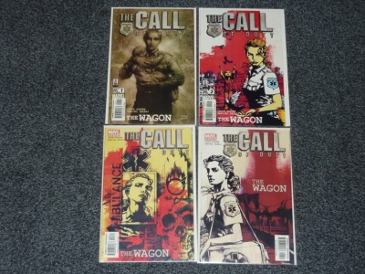 Call of Duty The Wagon #1 to #4 - Marvel 2002 - Complete Set