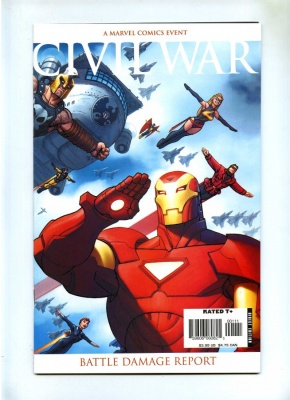 Civil War Battle Damage Report #1 - Marvel 2007 - VFN/NM - One Shot