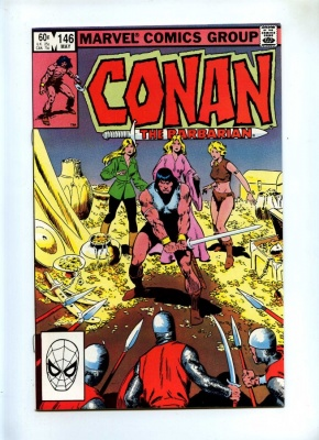 Conan The Barbarian 146 - DC 1983 - VFN-